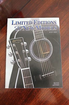 Martin & Co. Limited Editions & New Models Catalog from July 2006