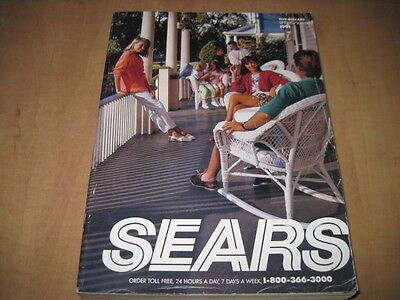 Vintage Sears 1991 Spring & Summer Annual Catalog