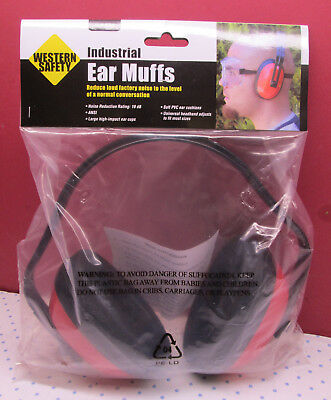 Western Safety Industrial Ear Muffs Ansi Approved Ear Protection 19 Db Reduction