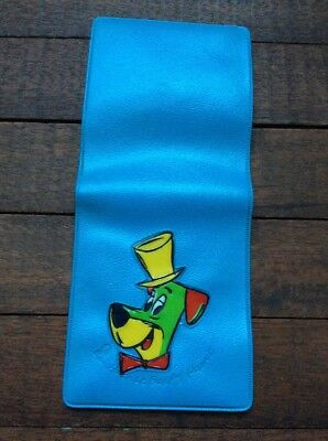 Vintage Huckleberry Hound Original Toy Wallet Hanna Barbara Cartoon TV Show Nice