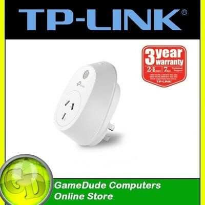 TP-LINK HS110 Smart WiFi Plug SWITCH with Energy Monitoring Smart App.