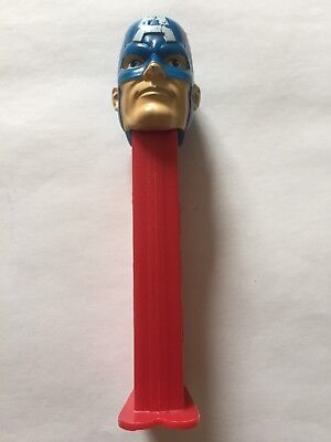 Captain America Pez Dispenser Collectable