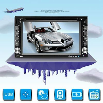 """6.2"""" Car Stereo Radio GPS Navigation 2 Din Car DVD Video Bluetooth with Map"""
