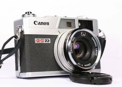 AFFORDABLE SERVICE CLA for Canon Canonet QL17 GIII Camera 90 days Warranty!!!