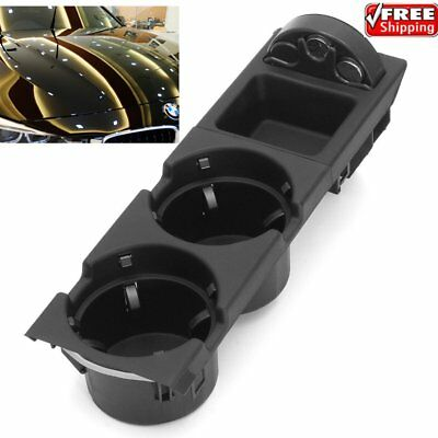 Center Console Cup Holder + Coin Storing BOX For BMW E46 318 320 325 330 330i JU