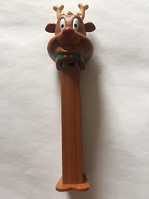 Rudolf The Red Nose Reindeer Pez Dispenser Collectable