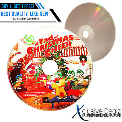 Leapfrog A Tad Of Christmas Cheer Dvd.Baby Genius Favorite Sing A Longs 2006 Pacific Kids Dvd
