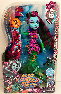 Monster High Great Scarrier Posea Reff Doll  - New - Free Delivery