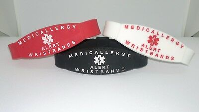 Personalised Medical bracelet / wristband replacement