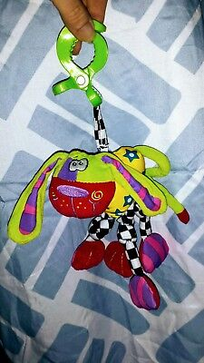 Playgro Wiggly Wonky string pull Doofy