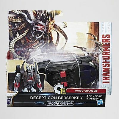 NEW Transformers The Last Knight 1 Step Decepticon Berserker