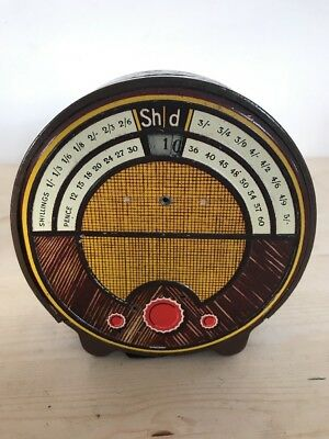 Ekco Ac76 Radio - Shape Of Money Box - Early Toy