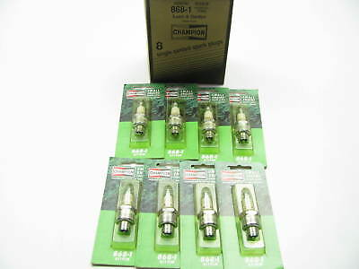 (8) Champion 868 RJ19LM Spark Plugs - Lawn And Garden Applications