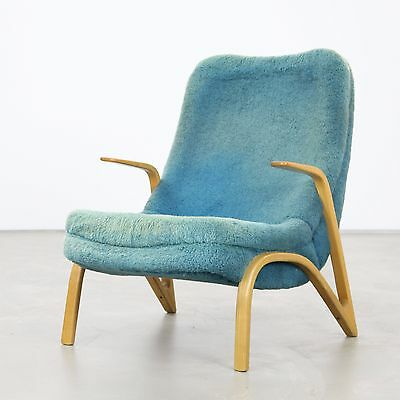 Lounge Chair by Paul Bode, Made in Germany, 1950s  | Sessel 50er