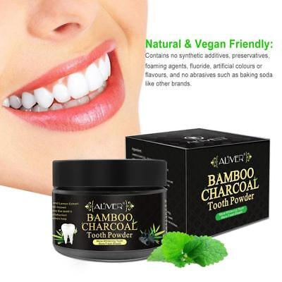 Bamboo Activated Charcoal Teeth Tooth Whitening Powder Toothpaste