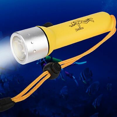 TORCIA LED Subacquea 50 metri LUCE WATERPROOF immersione diving SUB snorkeling