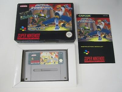 Captain Commando - Nintendo SNES (PAL) Game - Reproduction Repro