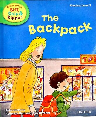 The Back Pack | Biff Chip Kipper | Children's book | Phonics | Level 3 | New