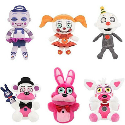 Five Nights at Freddy's Sister At Freddy's FNAF Toys Stuffed Plush Doll Kid New