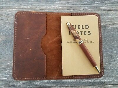 Kodiak Leather Field Notes Journal Cover. Handmade in USA #7