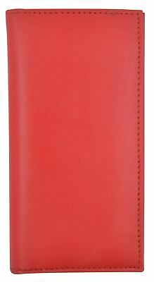 Basic Checkbook Cover RED NEW