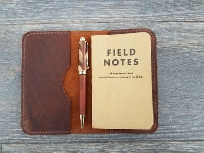 Kodiak Leather Field Notes Journal Cover. Handmade in USA #2