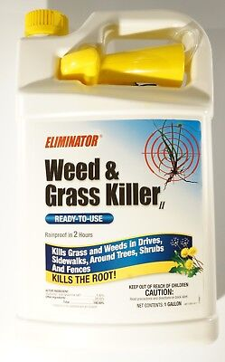 New Eliminator Weed and Grass Killer Ready-To-Use 1gal