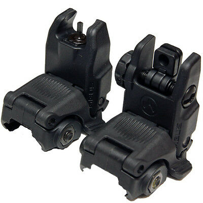 Magpul MBUS Gen2 Front and Rear Flip Sights Set - Brand New - 100% Genuine
