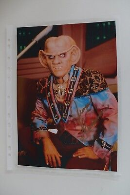 Autogramm Armin Shimerman Star Trek Quark Tv original autograph signed photo top
