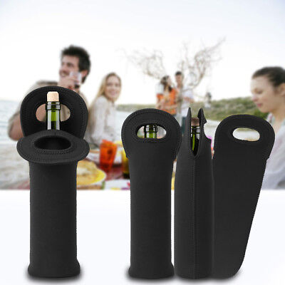 3PCS Wine Cooler Holders Neoprene Bottle Carry Bag Champagne Wine Bottle Cover