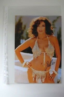 Autogramm Joan Collins Kino Tv original autograph signed photo top
