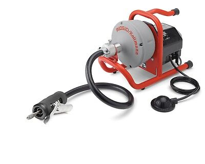 """RIDGID 71722 K-40AF Sink Machine with 5/16"""" Cable and Autofeed System."""