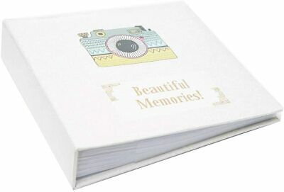 "Large Ringbinder Photo Album 500 Photos Memories Design Holds 500 6x4"" Photos"
