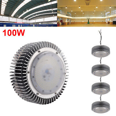 5X 100W LED High Bay Light Warehouse Bright Fixture Factory Industry Gym Light