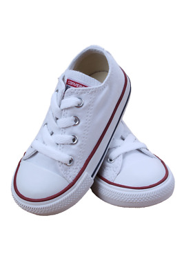 Kids Toddler Converse Chuck Taylor All Star Low 7J256 Optical White