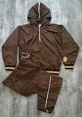 Vintage 80's Russell Athletic Western Michigan Full Athletic Tracksuit size Med
