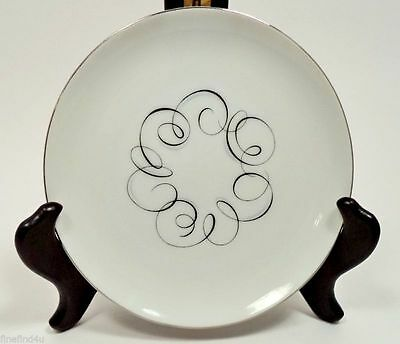 "Style House Fine China Rhythm Japan 3 6 1/8"" Bread & Butter Plates"