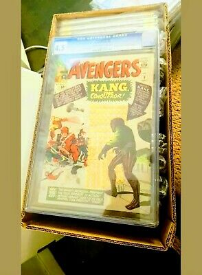 Avengers #8 1964 Silver Age 1st appearance Kang the Conqueror CGC 4.5