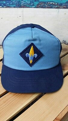 Vintage Webelos Cub Scout Official YOUTH  Snapback Hat Cap Made In USA      *hb6
