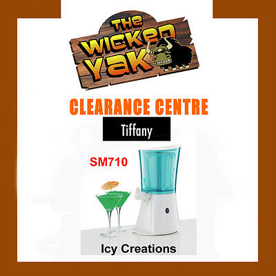 Tiffany 1 Litre Icy Cocktail/Mocktail/Slushie/Slurpee Maker SM710 FREE SHIPPING