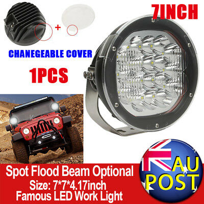 """7""""inch 1800W CREE Spot Beam LED Driving Light HID Replace Offroad Pickup Wagon"""