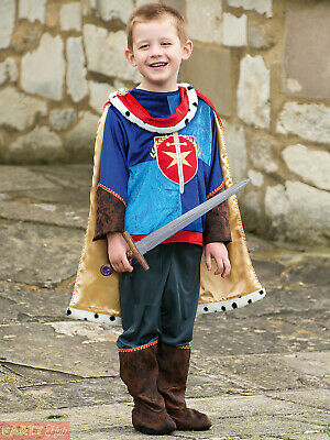 Boys Deluxe Royal Prince Costume Childrens King Fancy Dress Fairytale Book Week