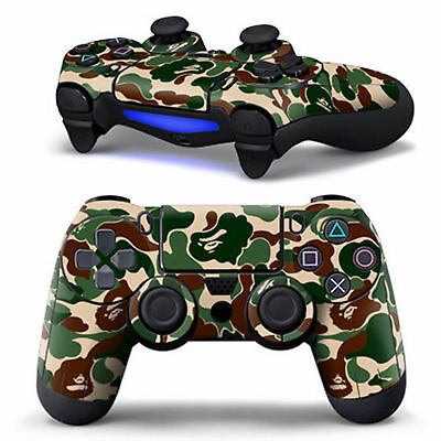 Controller Decal Skin Stickers Cover For PS4 Playstation 4 Game Accessories