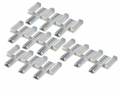 Peco Code 70/75/83 Insulated Joiners x 12 Molded in Nylon SL-111