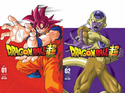 Dragon Ball z Super Part One and two 1 & 2 DVD