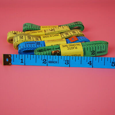 "1.5M 60"" Body Measuring Ruler Sewing Cloth Tailor Tape Measure Soft Flat"