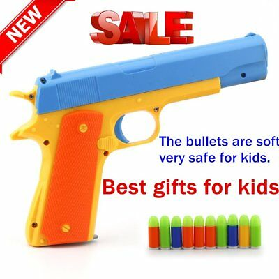 Children's Toy Guns Soft Bullet Gun Plastic Kids Fun Outdoor Game Toy Guns JS