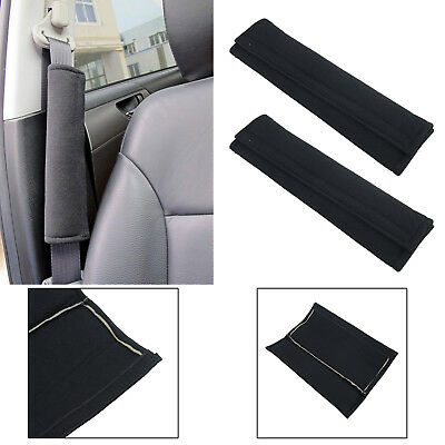 2x Car Seat Belt Pads Harness Safety Shoulder Strap Cushion Covers Children