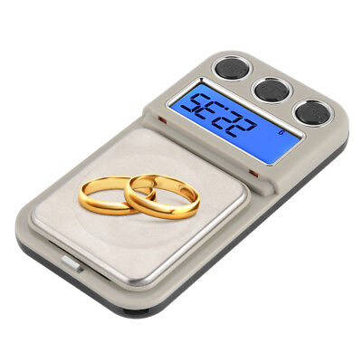 600g Electronic Digital Pocket Scale Portable Jewellery Weighing Scales TE861