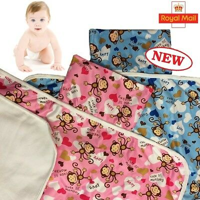 baby Nappy Changing Mat Travel Changing Pad Foldable Diaper Mat Portable